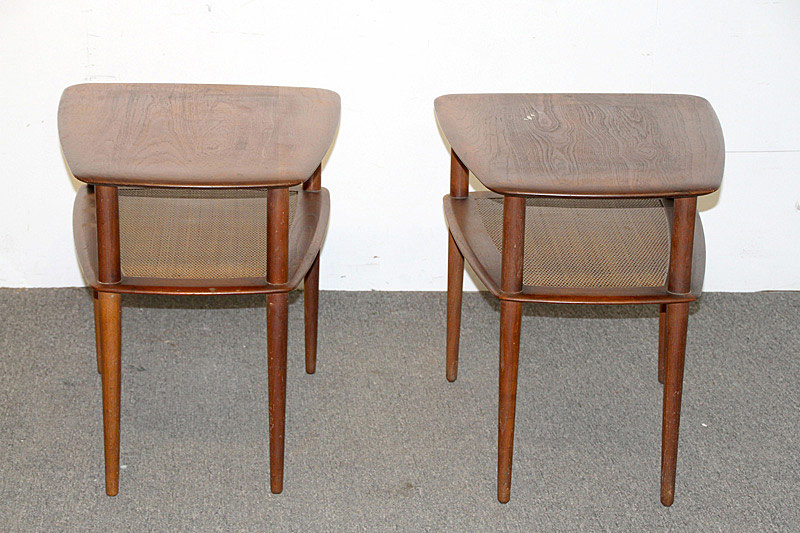 714. Pair of Peter Hvidt/France & Sons Teak Tables. | $354.00
