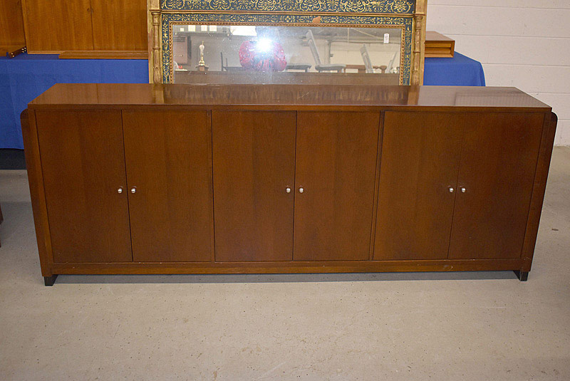 719. French Art Deco Style Cabinet/Sideboard. | $184.50