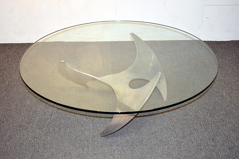 722. Knut Hesterberg Propeller Coffee Table. | $153.75