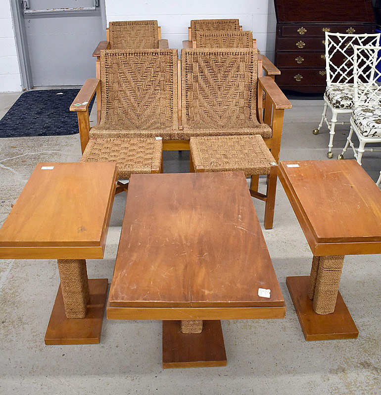 729. Nine Piece Tyco Living Room Set. | $1,045.50