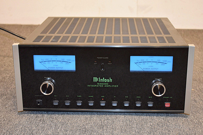 736. McIntosh MA6300 Integrated Stereo Amplifier. | $1,845