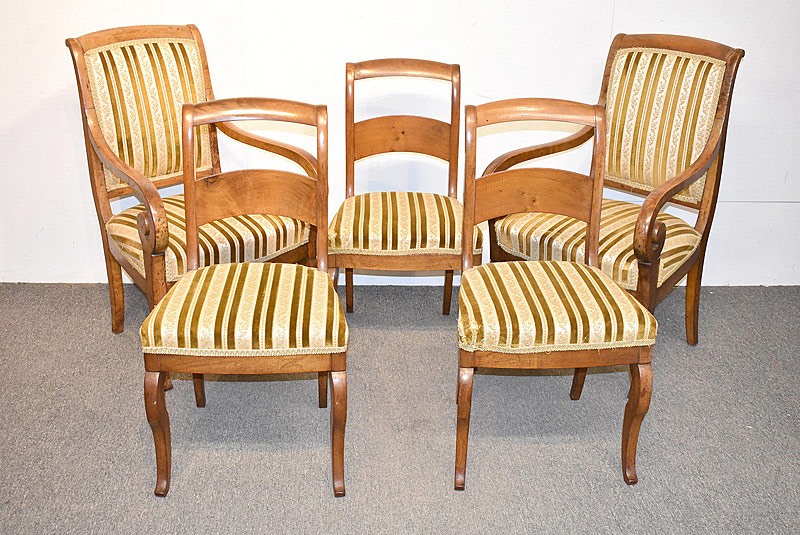 747. French Regency Five Piece Parlor Suite. | $276.75
