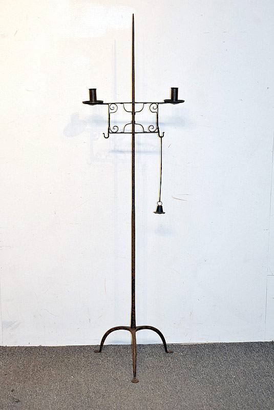 753. Wrought Iron Candlestand. | $215.25