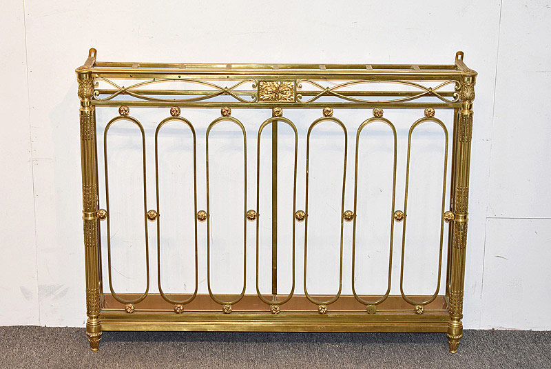 759. French Empire-style Gilt Bronze Umbrella Stand. | $354
