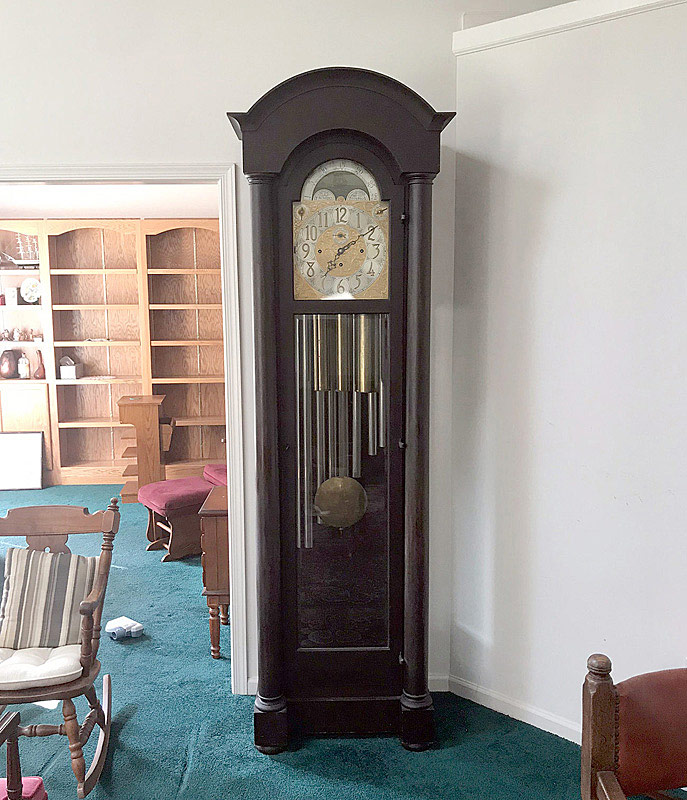 765. Herschede Tubular Chime Tall Case Clock, # 8836. | $1,476