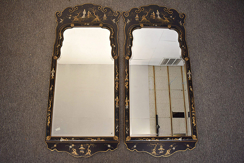 773. Pair of Friedman Brothers Chinoiserie Mirrors. | $984.00