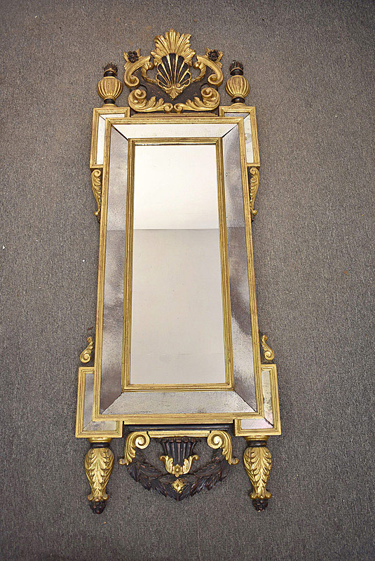 780A. Italian Carved Gilt Mirror. | $338.25