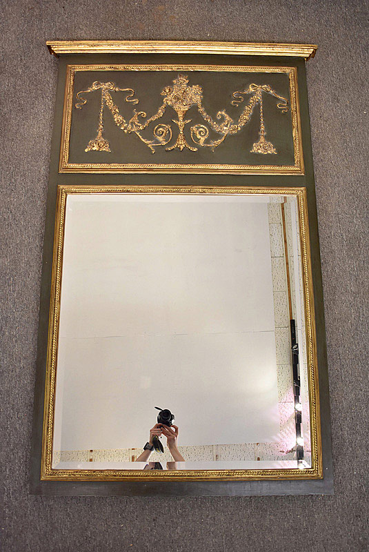 780B. John Richards Trumeau Mirror. | $215.25