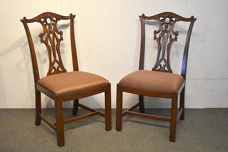 781. 16 Henredon Chippendale Dining Chairs. | $2,214