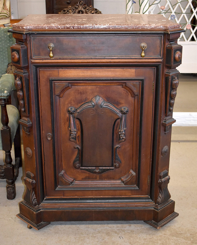 840. Victorian Music Cabinet. | $338.25