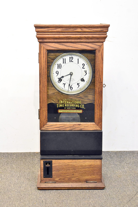 852. International Time Recorder Time Clock. | $324.50