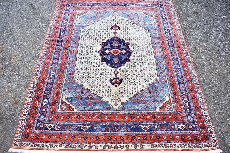 894. Indo-Persian Rm Size Carpet, 12ft 7in x 9ft 8in. | $492