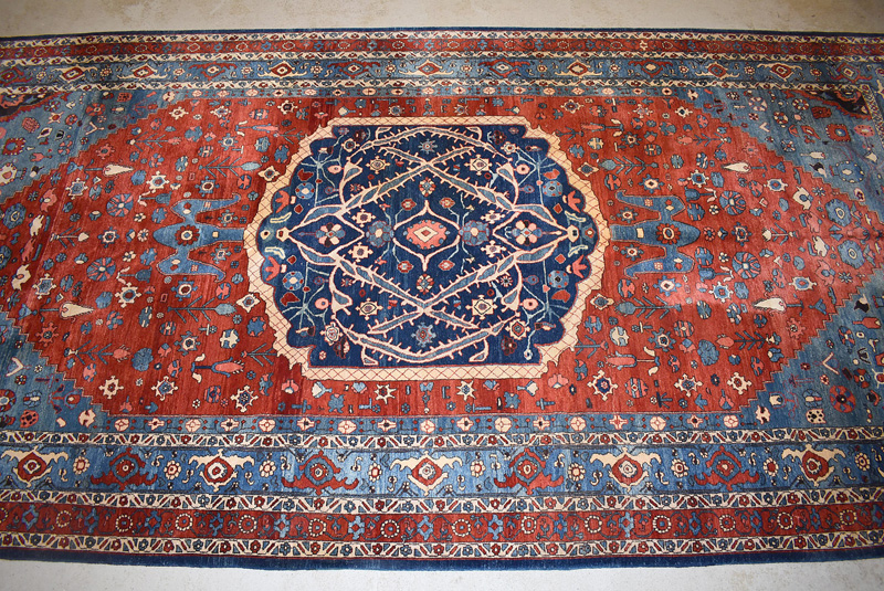 895. Indo-Persian Room-size Carpet, 22ft x 10ft 7in. | $1,062