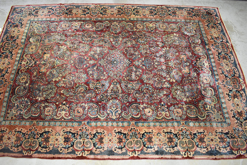 896. Sarouk Room-size Carpet, 16ft x 11ft. | $738