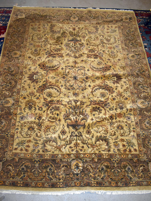 898. Indo-Persian Room-size Carpet, 11ft 10in. x 9ft. | $184.50