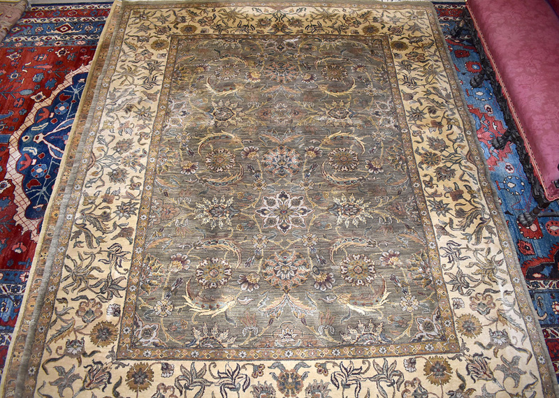 899. Indo-Persian Room-size Carpet, 11ft 9in. x 7ft 6in. | $59