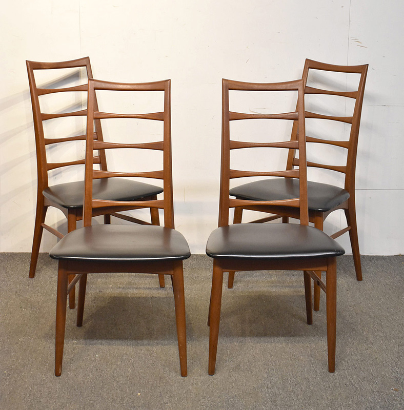 3. Four Danish Koefoeds Hornslet Dining Chairs |  $767
