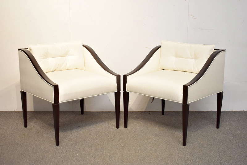 8. Pair of Christopher Guy Lounge Chairs |  $295
