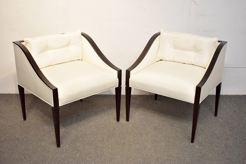 9. Pair of Christopher Guy Lounge Chairs |  $236