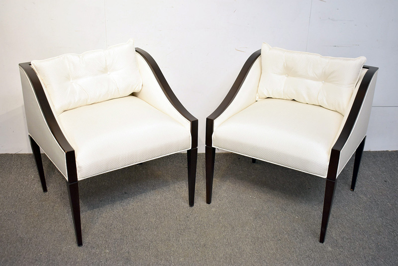 10. Pair of Christopher Guy Lounge Chairs |  $276.75