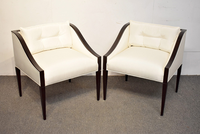 11. Pair of Christopher Guy Lounge Chairs |  $354