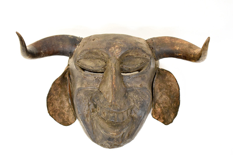 41. Mexican Festival Dance Mask: Horned Creature |  $184.50