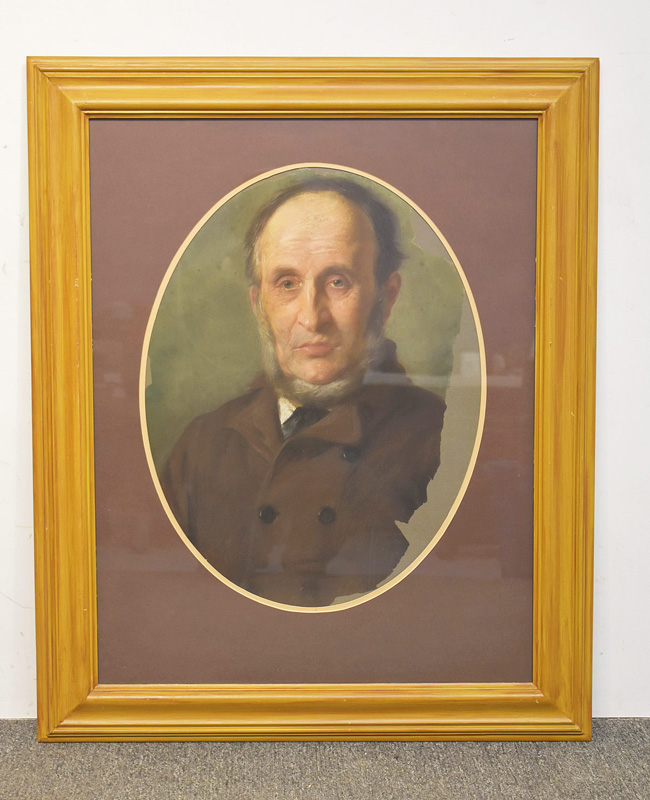 68. Unsigned. Pastel/Paper, Portrait of a Gentleman |  $49.20
