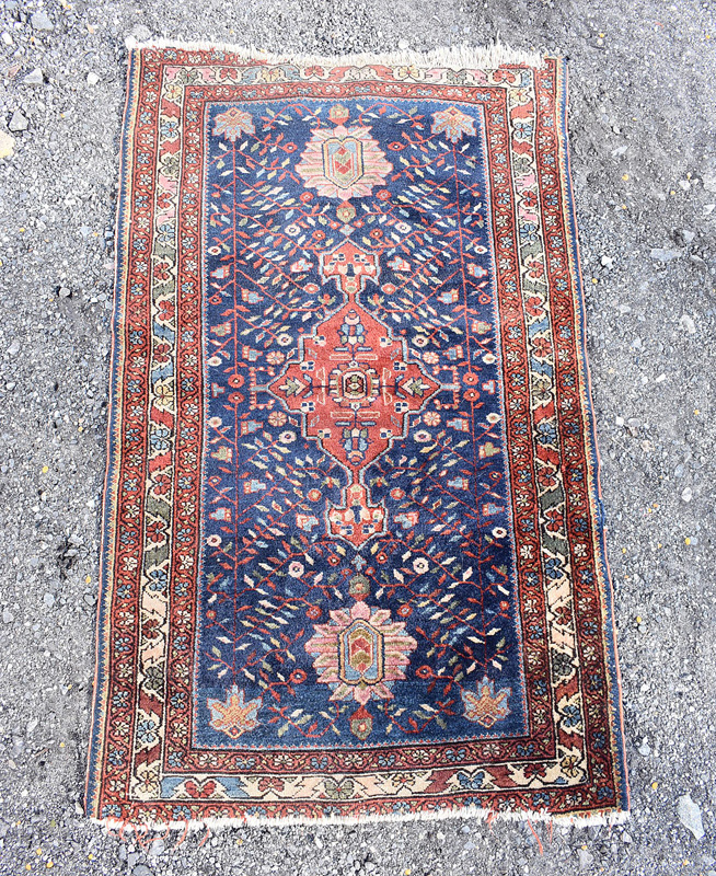 69. Persian Area Carpet, 4ft 3in x 2ft 8in |  $110.70
