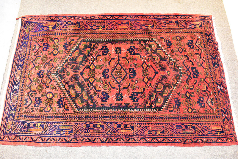 83. Iranian Area Carpet, 7ft x 4ft 7in |  $236