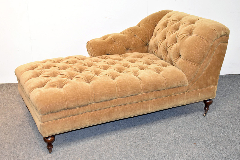 90. Chesterfield Chaise Lounge |  $265.50