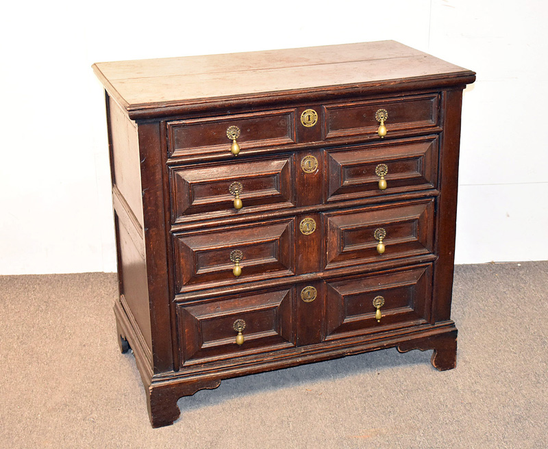 94. English Jacobean Oak Chest of Drawers |  $1,107