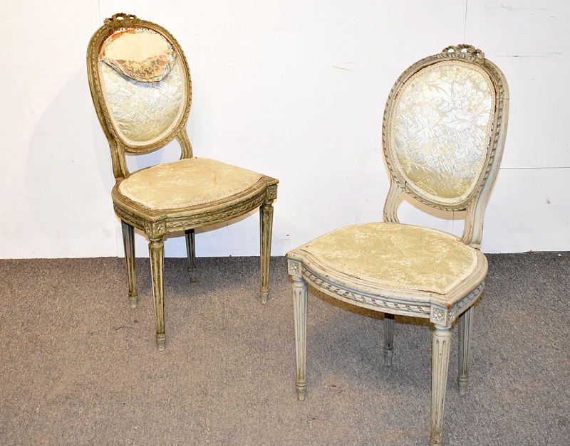 98. Pair of Louis XVI-style Side Chairs |  $123