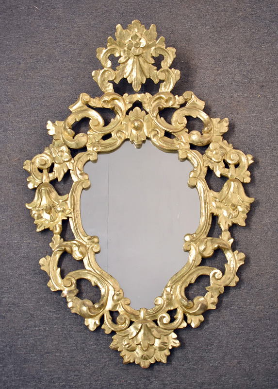 99. French Carved Gilt Wood Framed Mirror |  $177