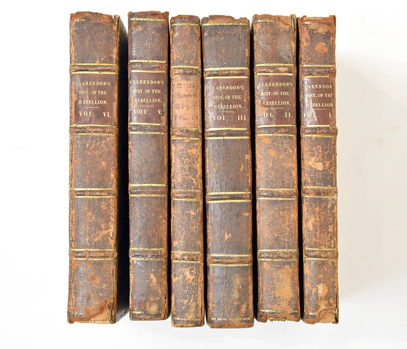 142. Clarendon.6 Vols. The History of the Rebellion… |  $472.00