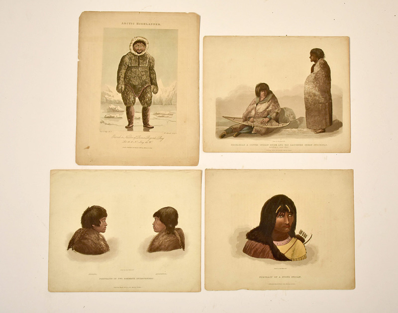 146. Four 19th C. Native American Prints/Engravings |  $70.80