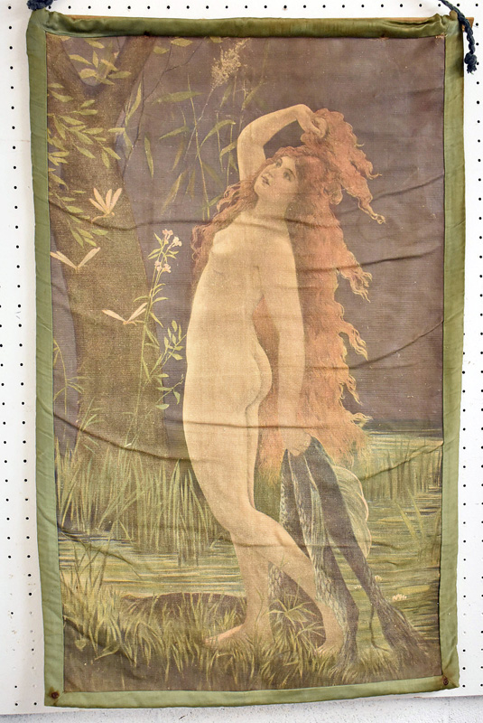 149. Art Nouveau Tapestry with Standing Nude |  $276.75