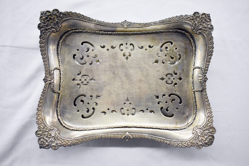 206E. Tiffany & Co. Sterling Asparagus Tray, #14066 |  $1,476