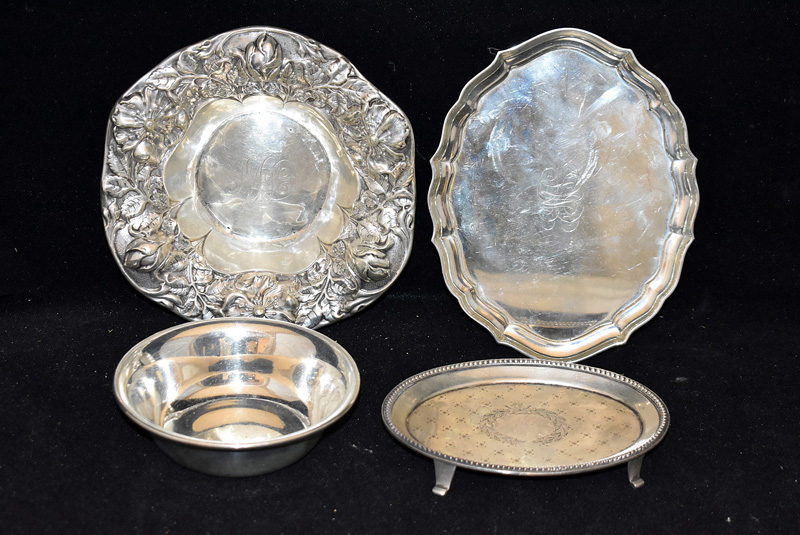 206F. Grouping of Four Sterling Silver Items |  $236