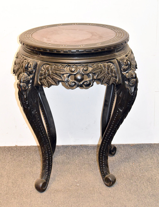 219. Chinese Carved Parlor/Lamp Table |  $49.20