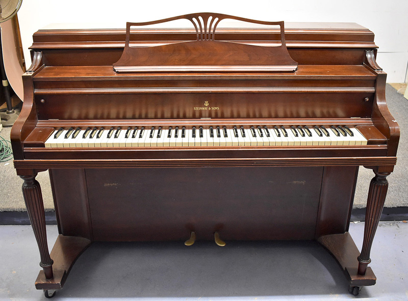 231. Steinway & Sons Upright Piano, Model 40,  #340322 |  $1,230