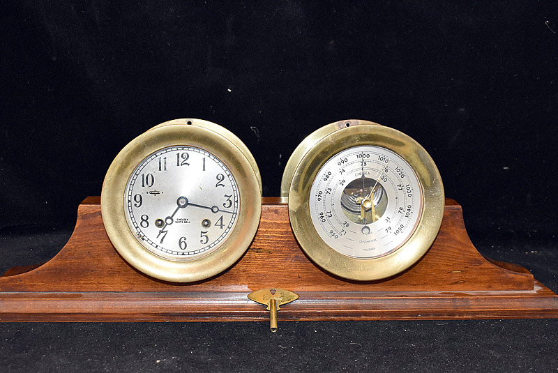 1. Chelsea Ship Bell Clock and Barometer |  $442.50