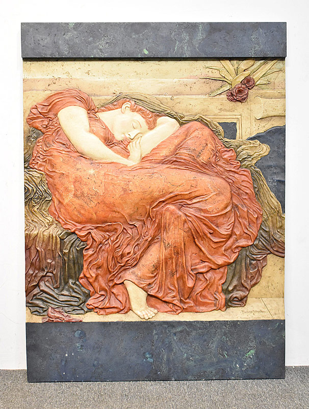 11. Aftr F. Leighton. Compostn. Plaque, Flaming Jude |  $184.50