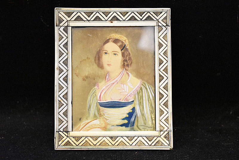24. Miniature Portrait of a Woman |  $35.40