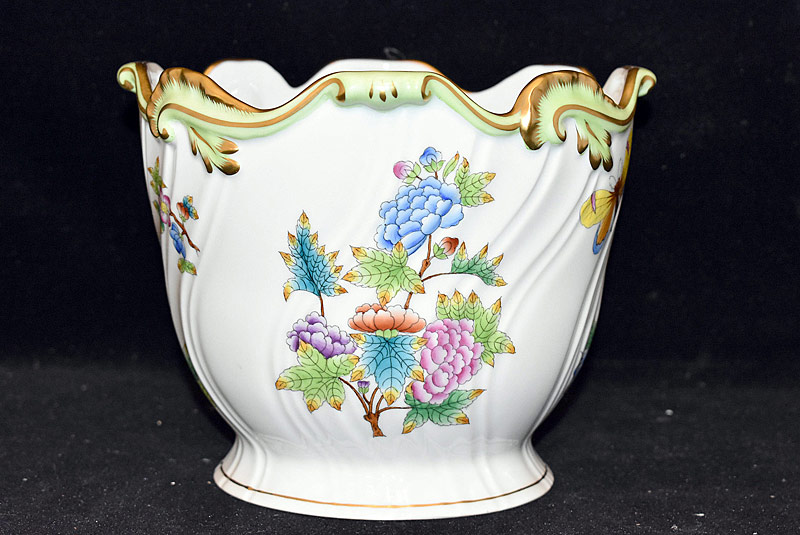 34. Herend Porcelain Cache Pot |  $153.75