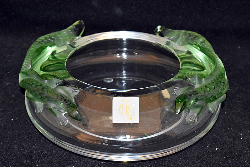 46. Lalique Bamako Art Glass Bowl |  $501.50