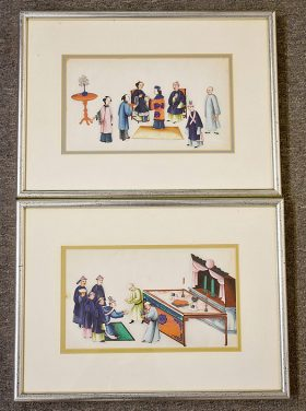 59. Two Chinese Pith Paintings |  $236