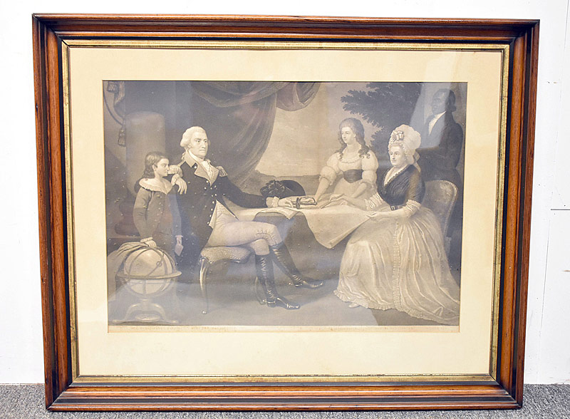 65. Aftr Edward Savage Engraving, G. Washington Family |  $123