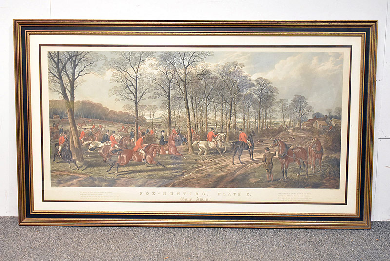 67. After John Sturgess. Hunt Scene Engraving |  $47.20