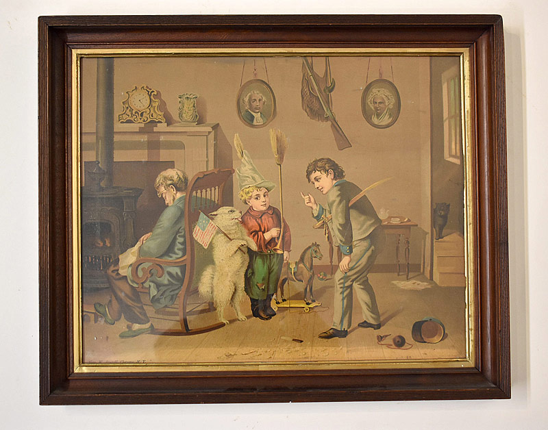 74. George Averell. Chromolitho., Interior Scene |  $61.50