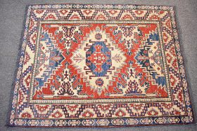 110. Caucasian-style Area Carpet, 5ft 4in x 4ft 4in |  $236